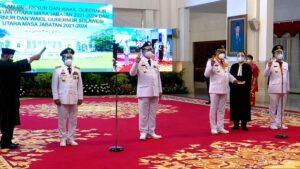 Olly-Steven Sah Gubernur-Wagub Sulut 2021-2024