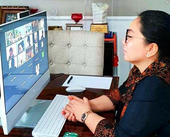 Rita Dondokambey-Tamuntuan Ikuti Rapat Persiapan Rakernas Dekranas