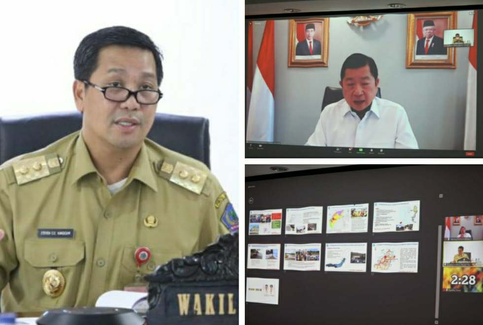 Wagub Kandouw Paparkan Tiga Proyek Prioritas Sulut Diantaranya Pembangunan Jalan Manado-Tomohon