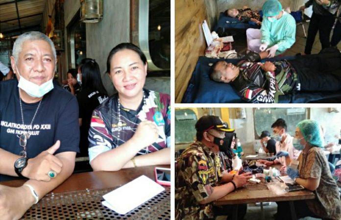 GM FKPPI Manado Gelar Donor Darah Massal