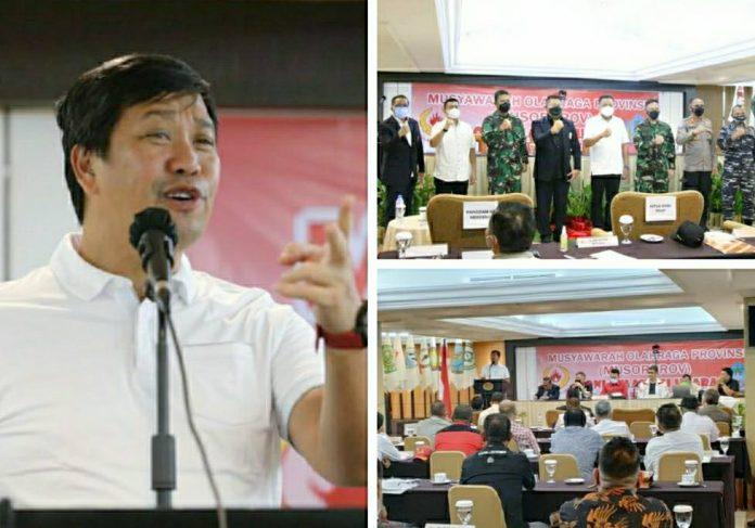 Steven Kandouw Ketua Umum KONI Sulut Periode 2020-2024
