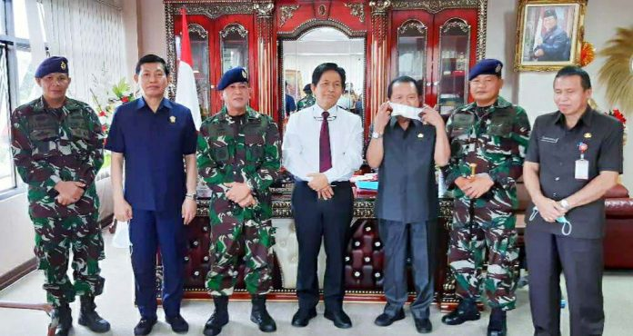 Deprov Sulut Kawal Pembentukan Kodiklat TNI AL di Manado