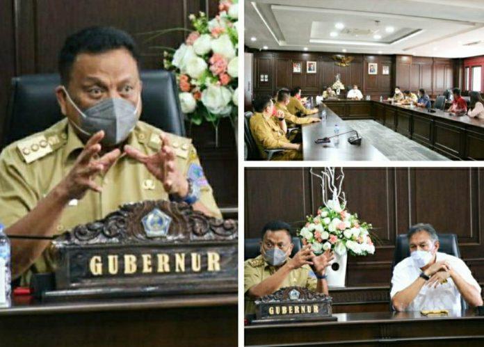 Gubernur Olly Perjuangkan Kemudahan Izin Wilayah Pertambangan Rakyat di Sulut