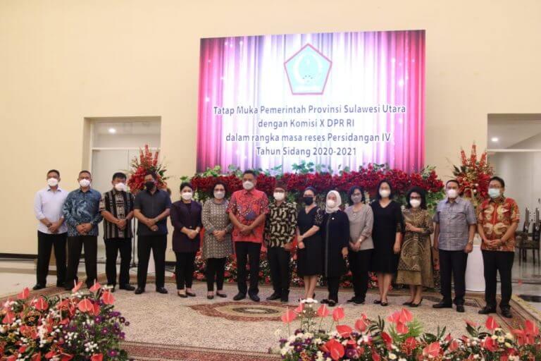 Gubernur Olly Minta Dukungan Komisi X DPR RI Optimalkan Sektor Pendidikan di Sulut