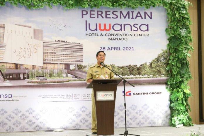 Wagub Kandouw Ungkap Luwansa Hotel Bukti Realisasi Investasi di Tengah Pandemi