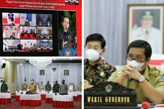 Presiden Jokowi Pimpin Rakor Kada-Wakada Hasil Pilkada 2020