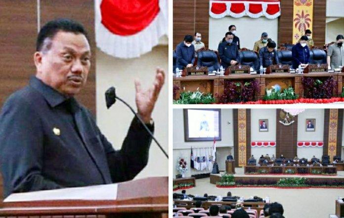 Gubernur Olly Apresiasi Kinerja Legislator Kawal Visi Misi Pembangunan Daerah di Sulut