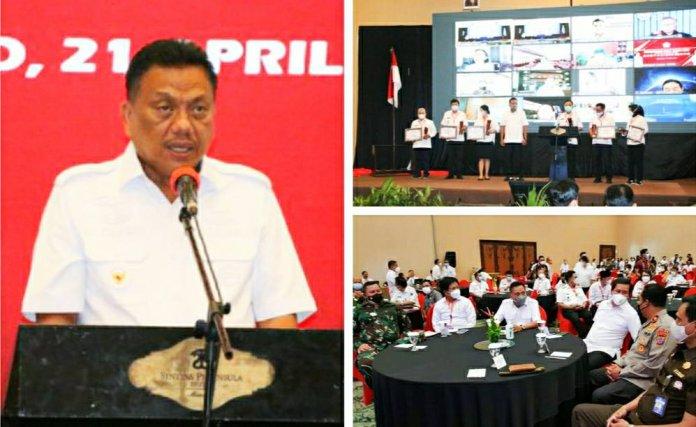 Gubernur Olly Beber Deretan Proyek Strategis di Sulut Hingga 2024