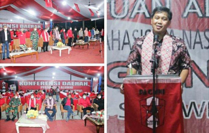 Wagub Kandouw Ingatkan Kader GMNI Jalankan Spirit Marhaenisme