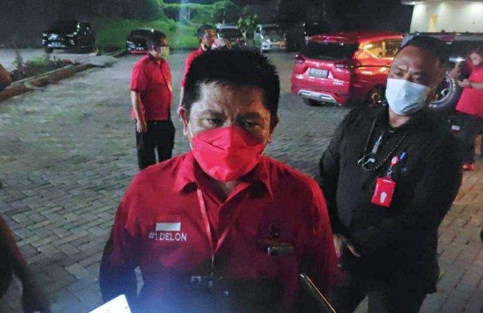 Lolong Targetkan PDIP Minut Sapu Bersih Pemilu 2024