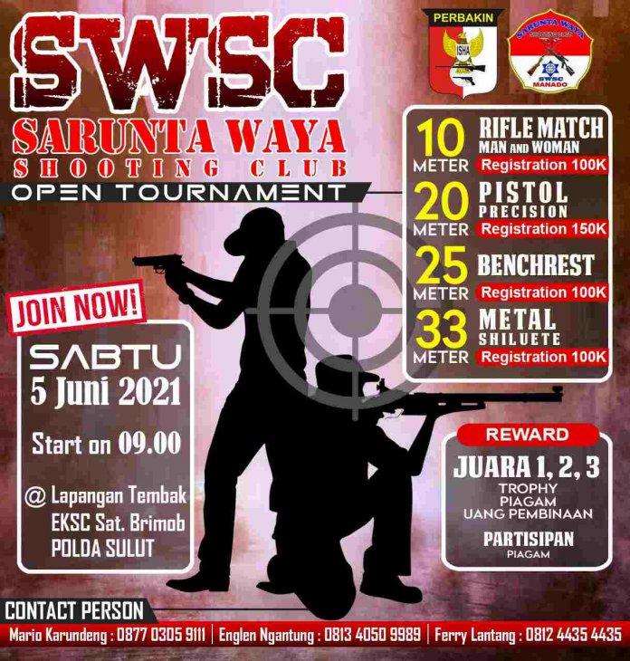 SWSC Gelar Lomba Menembak