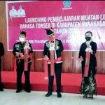 Bupati JG Hantar Bahasa Daerah Tonsea jadi Kurikulum Mulok SD-SMP di Minut