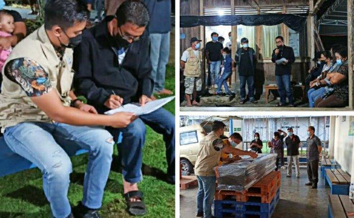 Jenazah PMI dari Taiwan Tiba di Desa Tiniawangko Minsel
