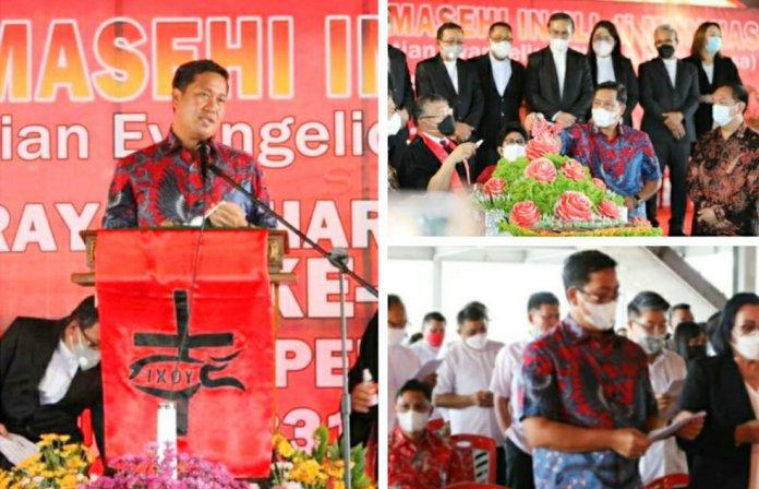 Wagub Kandouw Harap GMIM Jadi Motor Human Capital Unggul Sulut