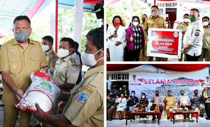 Kini Ujung Utara Sulut Jadi Fokus Gubernur Olly dan Forkopimda Tinjau Vaksinasi