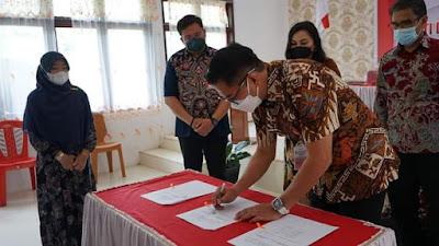 Wujudkan Janji Kampanye Sentuh Desa JG-KWL Berkantor di Liktim