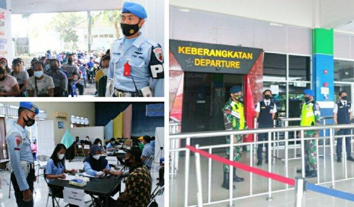 Lanudsri Perketat Bandara Sam Ratulangi