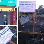 Tumbelaka Laporkan Dua Pelaku Diduga Bongkar Bangunan Ruko di Tombatu