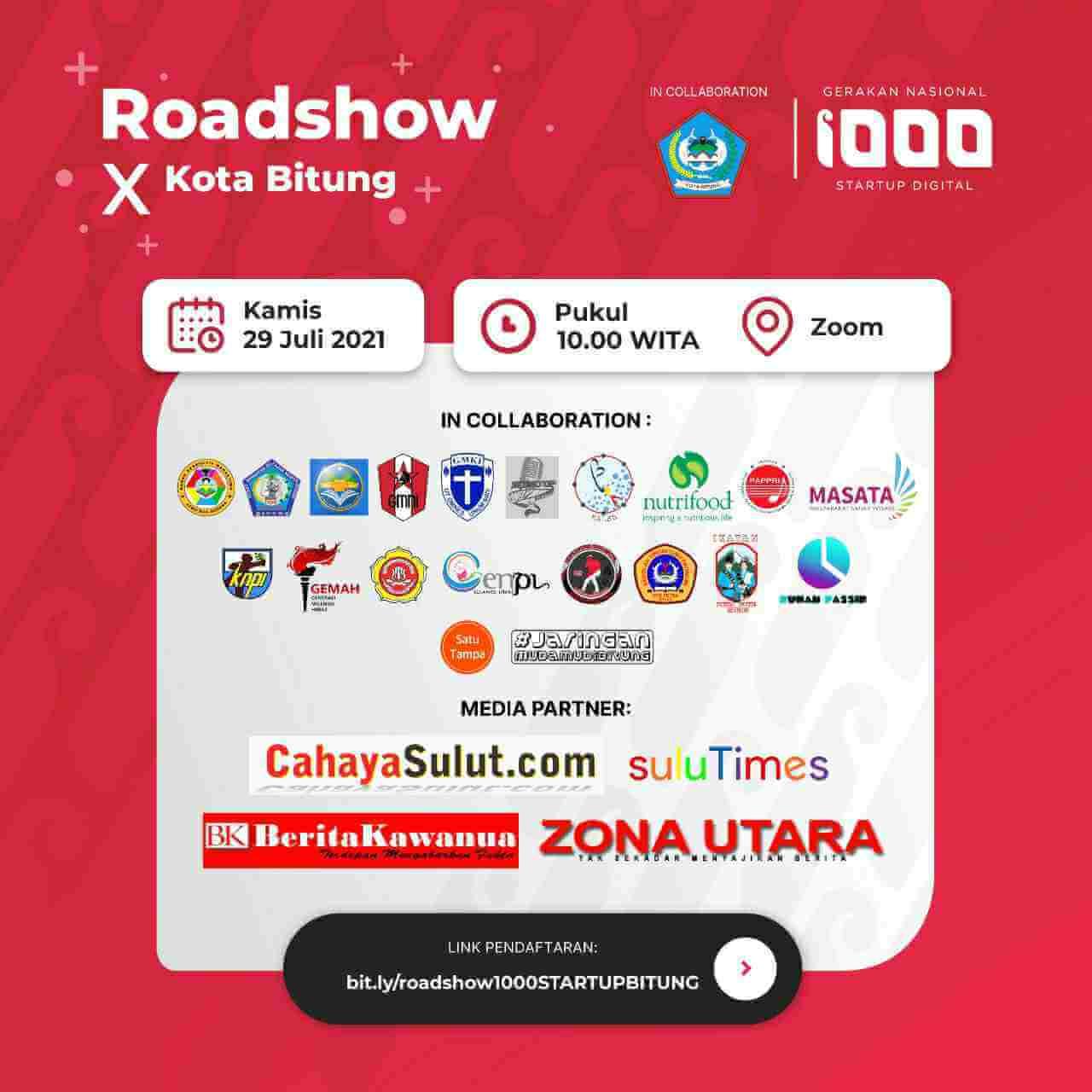 GN 1000 Startup Digital Kominfo Sasar Kota Cakalang