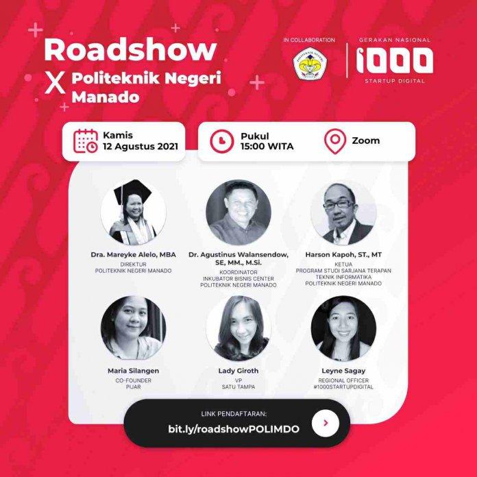 Polimdo Gelar Gerakan 1000 Startup Digital 2021
