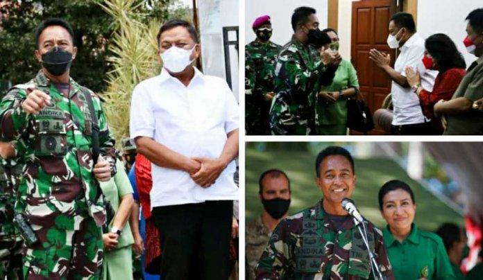 Jenderal TNI Andika Perkasa Tinjau Latma Garuda Shield ke-15 di Makalisung