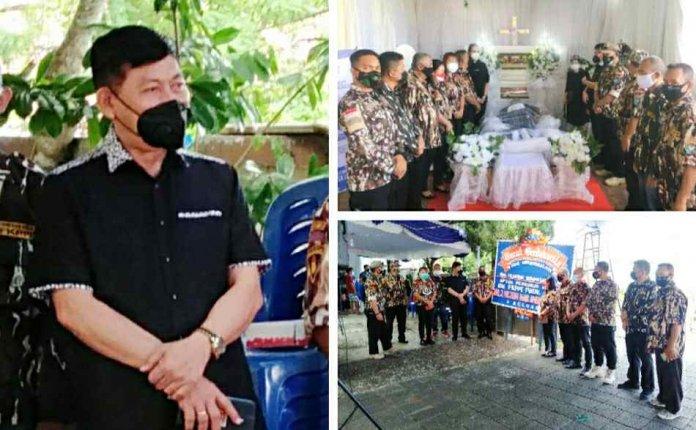 GM FKPPI Sulut Melayat Rumduk Almarhum Ketua KB FKPPI Hendrik Sompotan