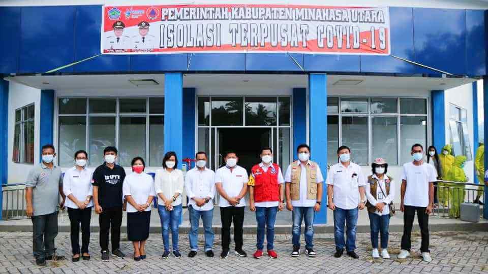 JG-KWL Resmikan Rumah Isoman Minahasa Utara