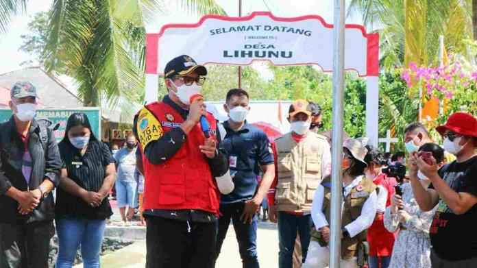 Bupati Joune Ganda Konsisten Tangani Covid-19 di Kepulauan Minahasa Utara
