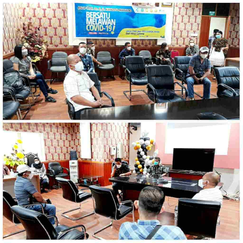 Dirut RS Kandou Ungkap Jurnalis Penyintas Komunitas Pertama di Sulut Donor Plasma Konvalesen
