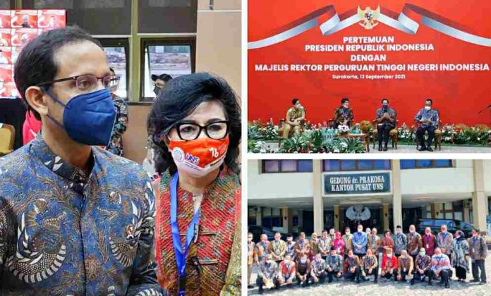 Rektor Unima Hadiri Audiens MRPTNI dan Presiden Jokowi