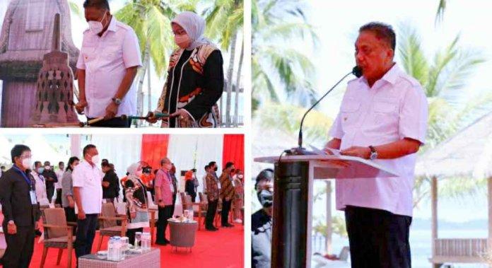 Gubernur Olly dan Menaker Ida Lakukan Kick Off Pemagangan Destinasi Pariwisata Super Prioritas di KEK Likupang