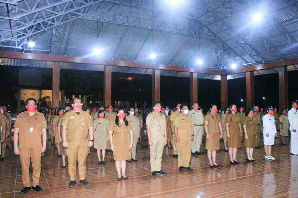 JG-KWL Lantik Sejumlah Pejabat Administrasi dan Kepsek SD SMP se-Minut