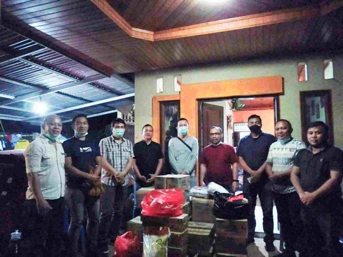 JIPS Salurkan Bantuan ke Korban Banjir Bandang di Pangu Mitra