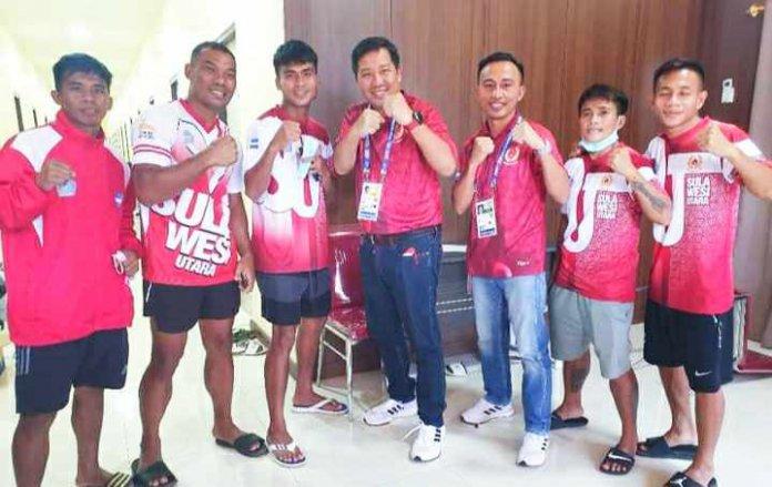 Wagub Kandouw Semangati Perjuangan Atlit Tinju Sulut