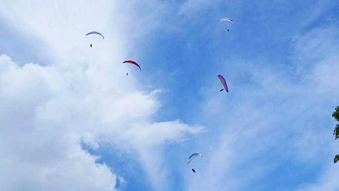 Enam Atlit Paralayang Sulut Mulai Berlaga di PON XX Papua