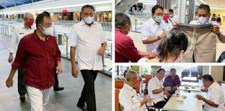 Gubernur Olly Tinjau Pusat Perbelanjaan Pastikan Prokes Ketat