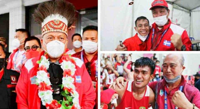 Juan dan Farrand Raih Emas Tinju PON XX Papua